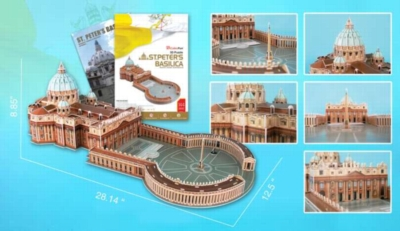 3D Puzzles - St. Peter's Basilica