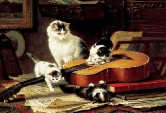 Musical Mischief - 500pc Jigsaw Puzzle by Falcon