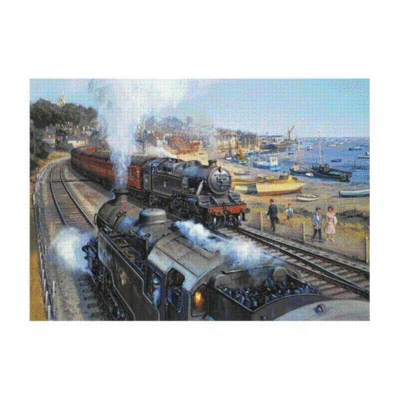 Journey by the Sea - 1000pc Jigsaw Puzzle by Falcon