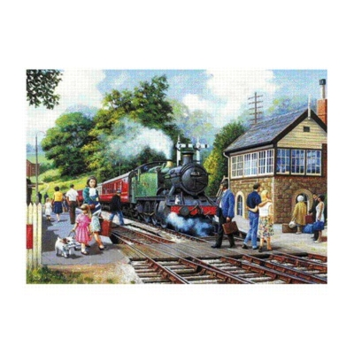 Departure Time - 1000pc Jigsaw Puzzle by Falcon