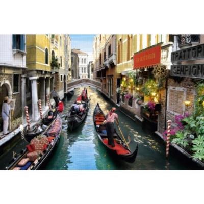 Gondola Ride in Venice - 1500pc Jigsaw Puzzle by Jumbo