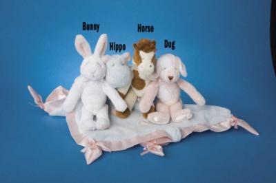 Bunny - 10'' Rattle By Douglas Cuddle Toys
