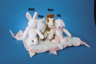 Brown and White Horse - 10'' Rattle By Douglas Cuddle Toys