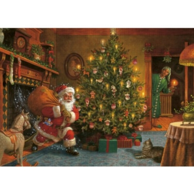 Midnight Visitor - 1000pc Jigsaw Puzzle by Jumbo