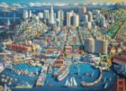 San Francisco, CA - 1000pc Suitcase Jigsaw Puzzle by Masterpieces
