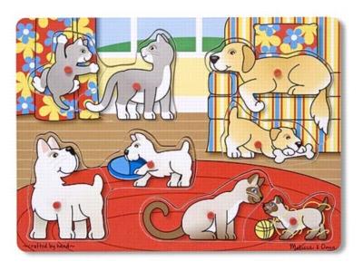 Wood Puzzles - Pets