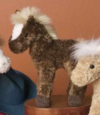 "Acorn Chestnut - 6"" Horse By Douglas Cuddle Toys"