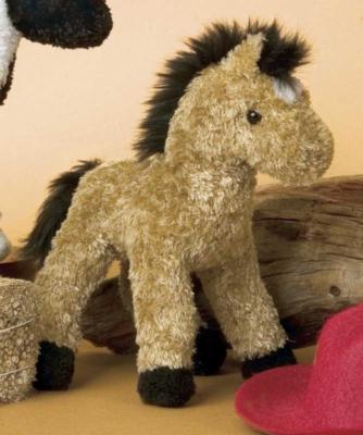 Arrow Mini Buckskin - 6'' Horse By Douglas Cuddle Toys