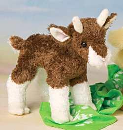 Buffy Baby Goat - 6'' Goat by Douglas Cuddle Toys