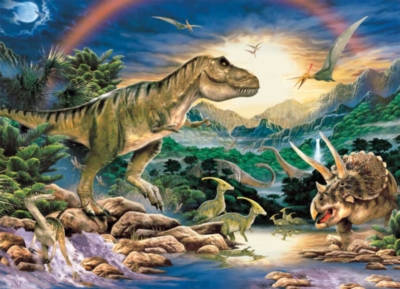 Dinosaurs Jigsaw Puzzles for Kids - Dinosaur Times