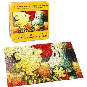 Snoopy/Everhart: Dog Breath - 550pc Jigsaw Puzzle by USAopoly