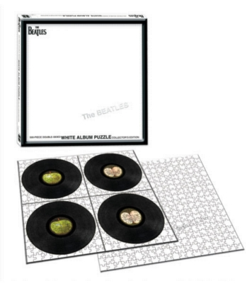 Beatles The White Album 40th - 500pc Double-Sided Jigsaw Puzzle by USAopoly