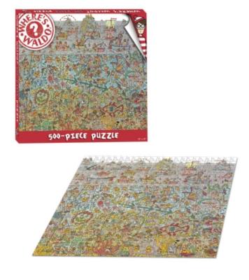 Wheres Waldo - 500pc Jigsaw Puzzle by USAopoly