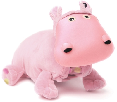 "Baby Hada (Plush / Pillow / Blanket) - 8"" Hippo by Zoobie Pets"