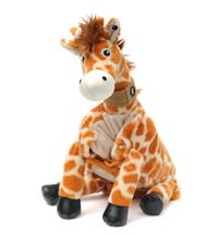 "Baby Jafaru (Plush / Pillow / Blanket) - 8"" Giraffe by Zoobie Pets"
