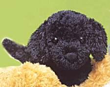 Ebony Black Lab - 6.5'' Dog by Douglas Cuddle Toys
