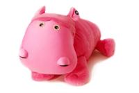 "Jumbo Hada (Plush / Pillow / Blanket) - 32"" Hippo by Zoobie Pets"