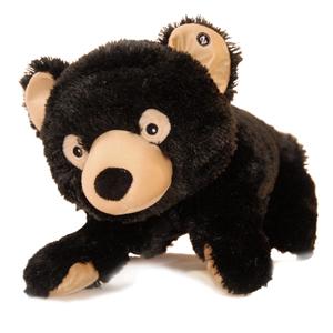 "Jumbo Bubba (Plush / Pillow / Blanket) - 31.5"" Black Bear by Zoobie Pets"
