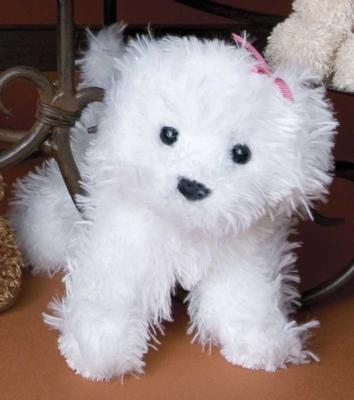 Babette Bichon - 6'' Dog By Douglas Cuddle Toys