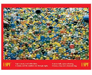 I Spy: Marbles - 500pc Jigsaw Puzzle by Briarpatch
