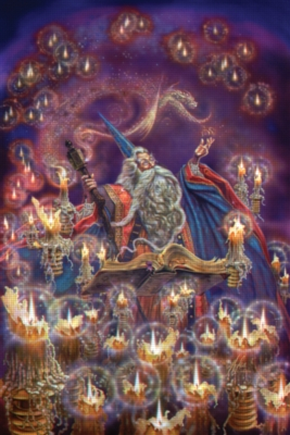 Wizards in 3D - 300pc TDC 3D Jigsaw Puzzle