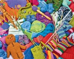 Springbok Jigsaw Puzzles - Knit Knacks