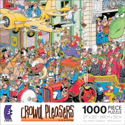 Crowd Pleasers: Carnival - 1000pc Jigsaw Puzzle by Ceaco