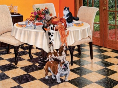 Teamwork - 1000pc Jigsaw Puzzle By Sunsout