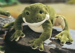 "Filmore Jr. - 13"" Frog by Gund"