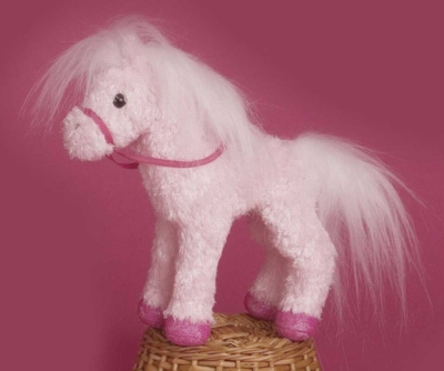 Confetti Pink - 6'' Horse By Douglas Cuddle Toys