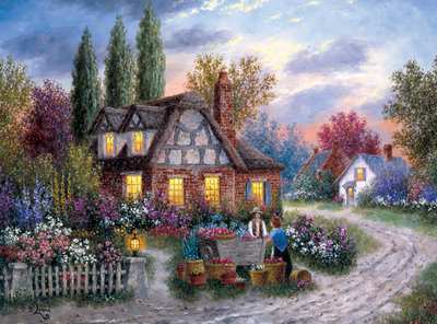 Flower Vendor - 1000pc Jigsaw Puzzle by Buffalo Games