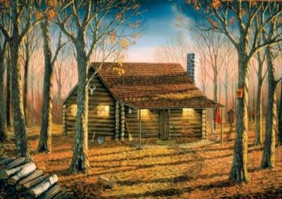 Jigsaw Puzzles - Woodland Cabin