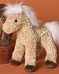 Raj Mini Palomino - 6'' Horse by Douglas Cuddle Toys