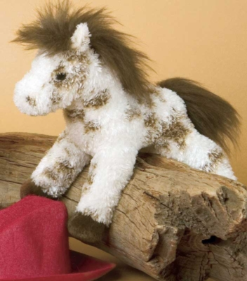 Legend Mini Appaloosa - 6'' Horse By Douglas Cuddle Toys