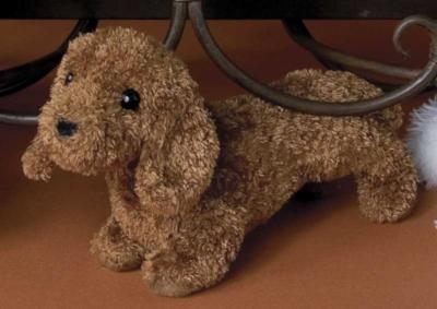 """Dagmar Dachshund - 6"""" Dog by Douglas Cuddle Toys"""