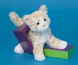 Sea Breeze Orange Cream - 6'' Cat by Douglas Cuddle Toys