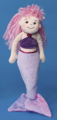 Pink and Purple - 11'' Mermaid By Douglas Cuddle Toys