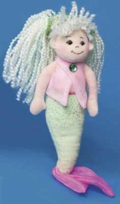 Kiwi and Pink - 11'' Mermaid By Douglas Cuddle Toys