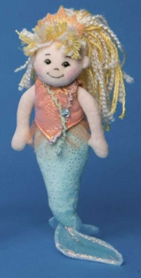 Aqua - 11'' Mermaid By Douglas Cuddle Toys