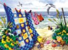 Seaside Summer - 500+pc Large Format Jigsaw Puzzle by Sunsout