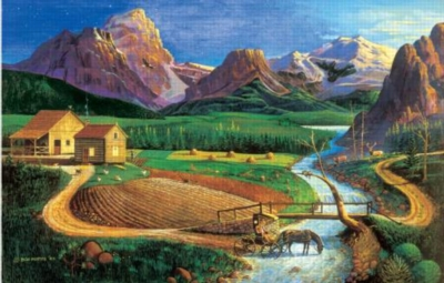 The Country Vet - 1000pc Jigsaw Puzzle by Sunsout