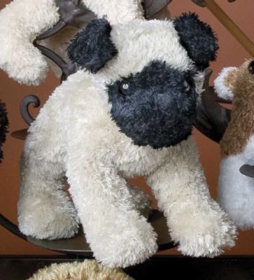 """Muzzles Pug - 6"""" Dog by Douglas Cuddle Toys"""