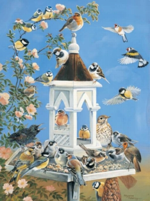 Bird Feed - 1000pc Jigsaw Puzzle By Sunsout