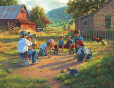 Large Format Jigsaw Puzzles - The Art of Young