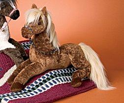 Autumn Chestnut Horse - 21'' Horse by Douglas Cuddle Toys