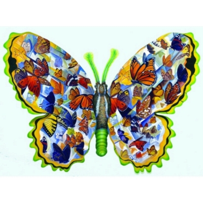 Migration - 1000pc Shaped Jigsaw Puzzle by Sunsout