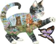 Shaped Jigsaw Puzzles - Kittens Delight