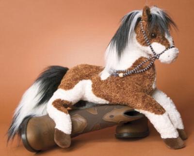 Sunset, Paint - 21'' Horse by Douglas Cuddle Toys