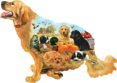 Shaped Jigsaw Puzzles - Training Days