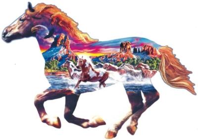 Horse Puzzles - Sedona Gallop